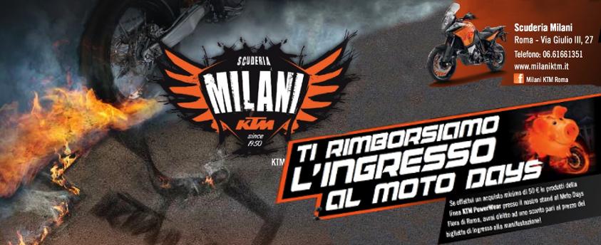 KTM al Moto Days a Roma