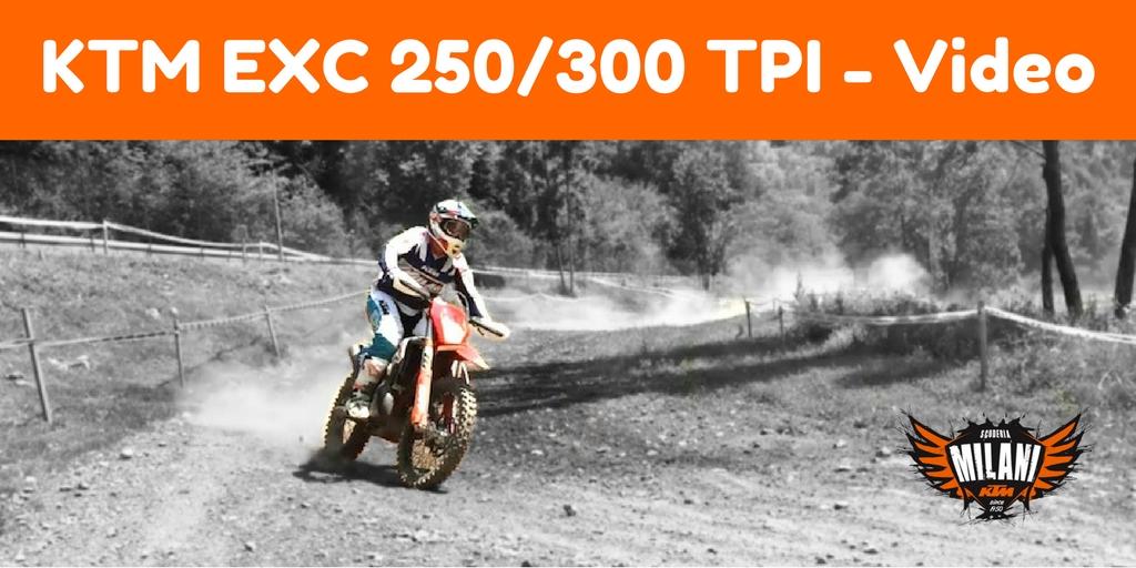 Nuove KTM EXC 250/300 TPI 2018 video
