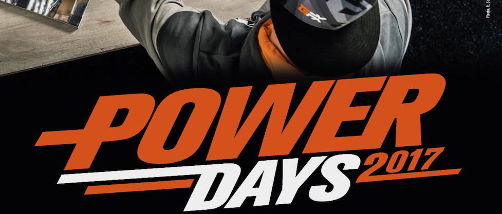 KTM power days 2017