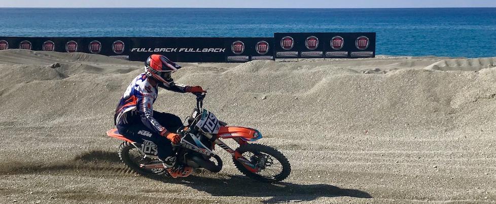 Luca Milani campione d'Italia Supermarecross