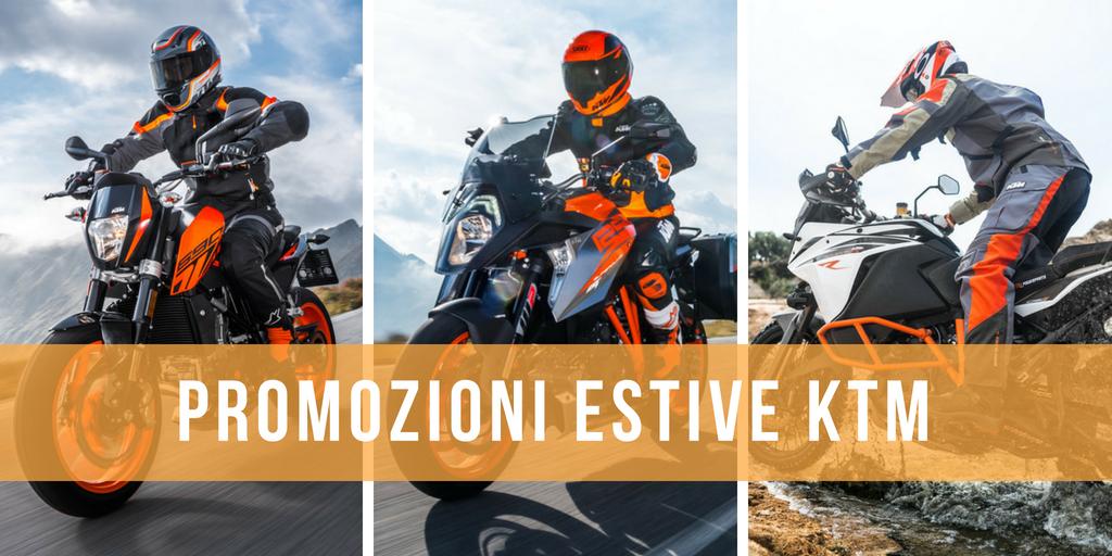 Promozioni KTM estate 2018