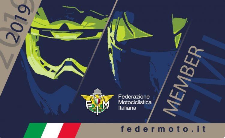 Tesseramento FMI 2019 Moto Club Milani