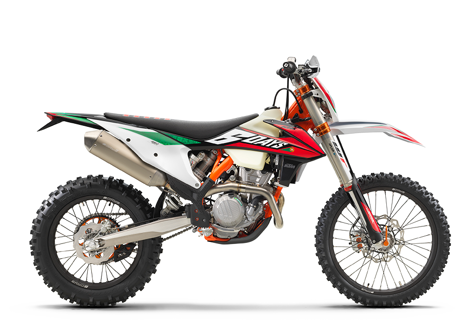 KTM 350 EXC-F SIX DAYS 2020 Roma